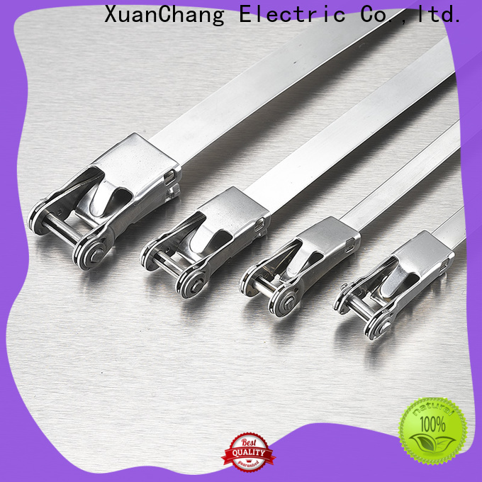 XCCH latest 316 stainless steel cable ties suppliers in power transmission
