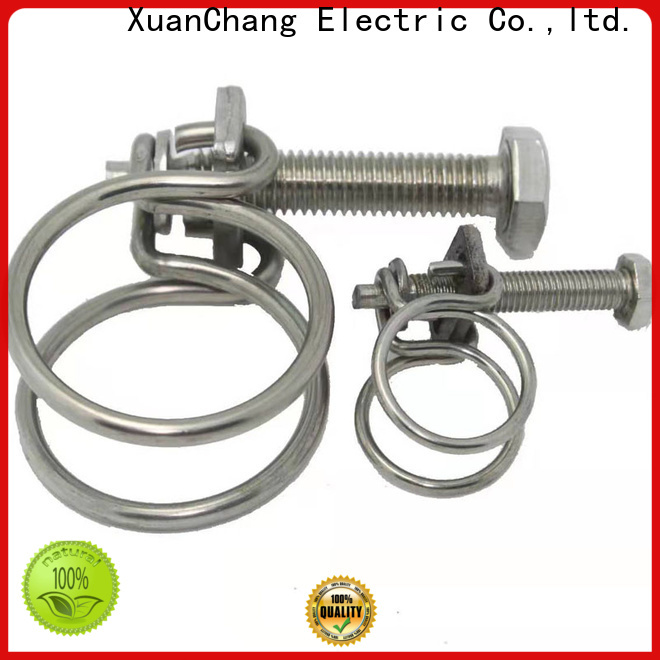 XCCH double wire hose clamps stainless steel supply for mining