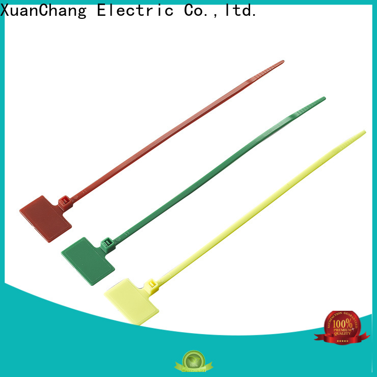 Xcch cable tags plastic suppliers in chemical plants