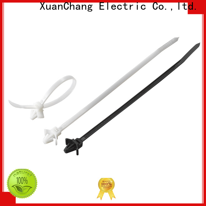 custom push mount cable ties company for industrial