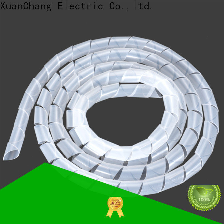 XCCH spiral cable management manufacturers in food processing