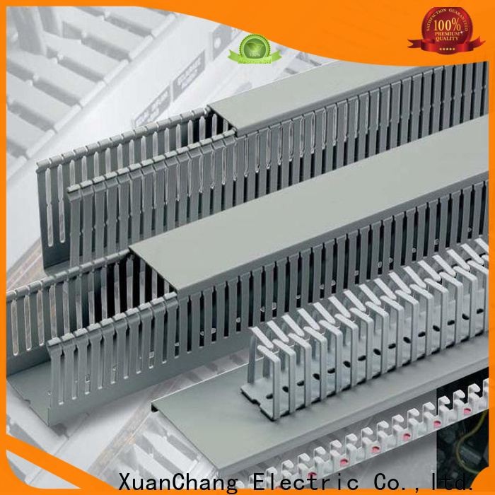 New cable duct 25x25 supply in food processing