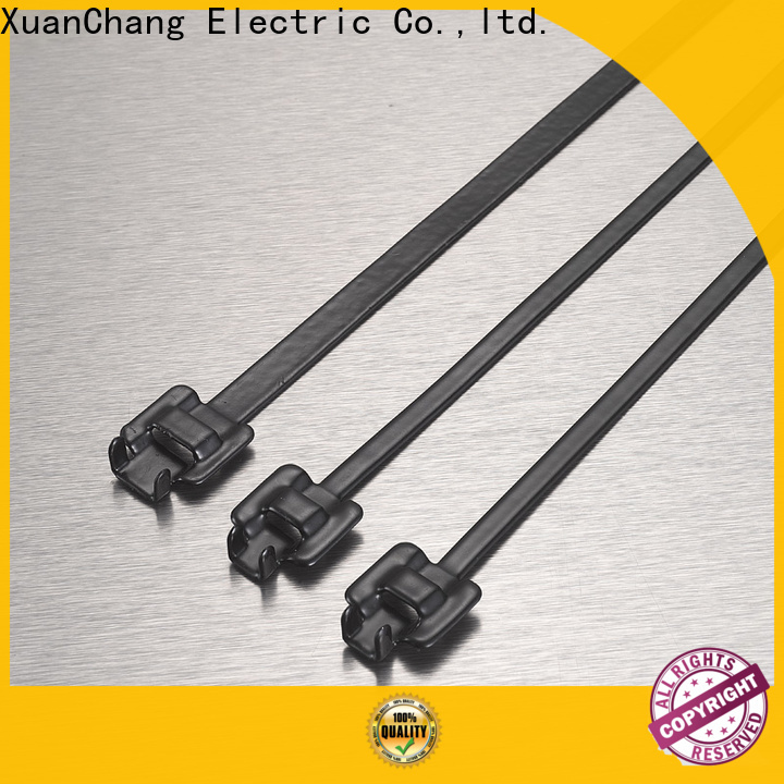 best pvc coated stainless steel cable ties supply in power transmission