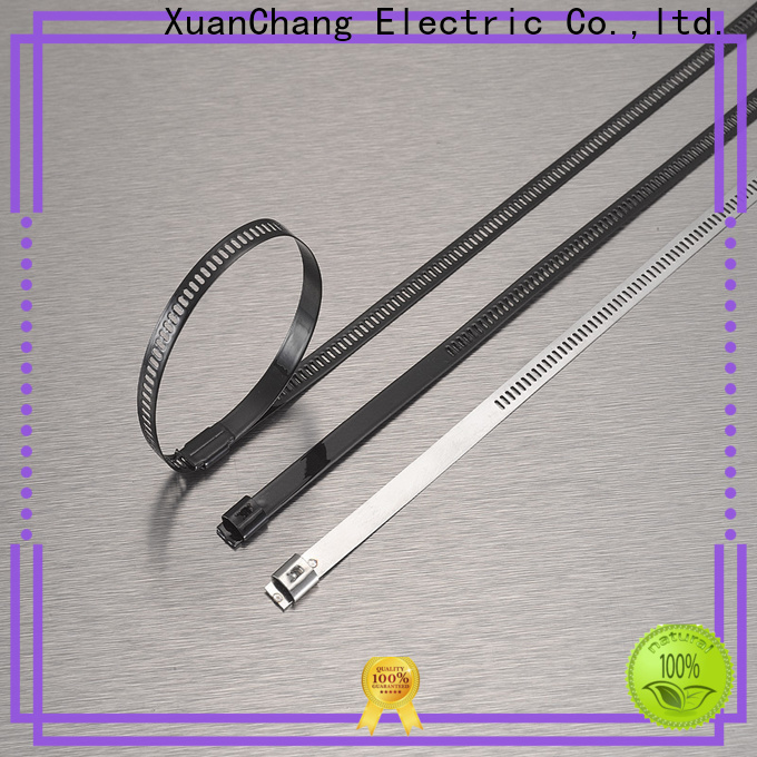 XCCH Xcch pvc coated stainless steel cable ties manufacturers in power transmission