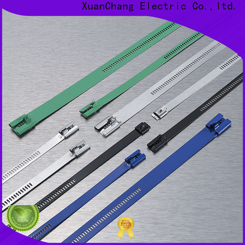 XCCH custom ladder type stainless steel cable ties suppliers for pulping