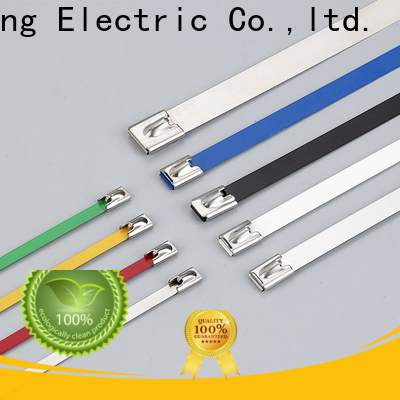 XCCH wholesale coated stainless steel cable ties supply in chemical plants
