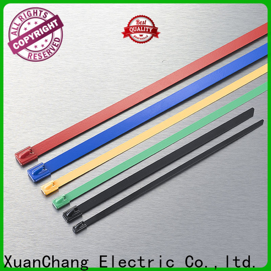 XCCH top coated stainless steel cable ties manufacturers for mining