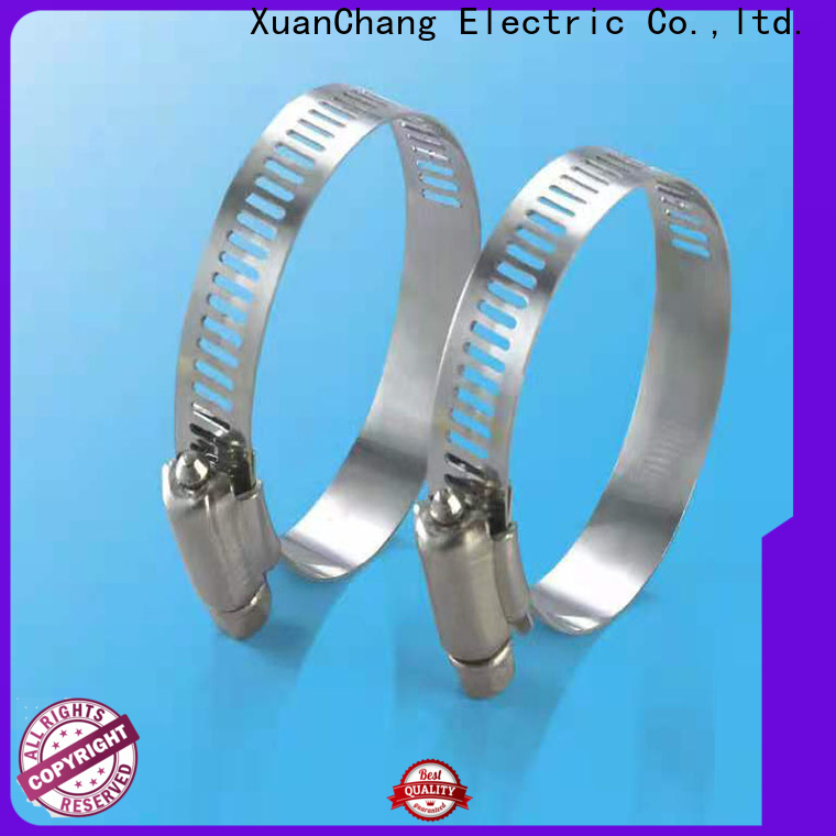 XCCH custom 12 inch hose clamp supply in food processing