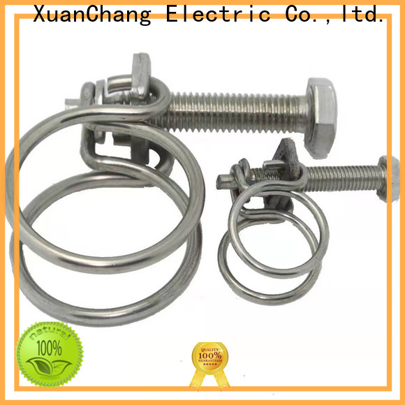 Xcch double wire hose clamps stainless steel supply for industrial