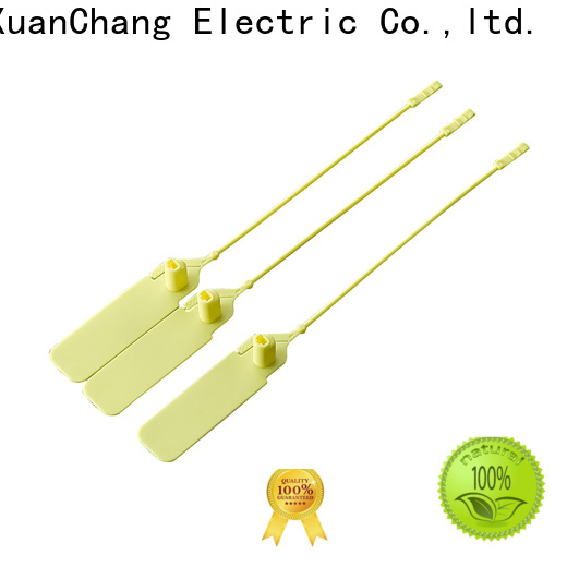 Xcch cable security seals manufacturers for industrial