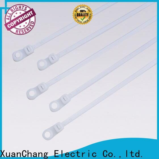 XCCH mounted cable ties for business in food processing