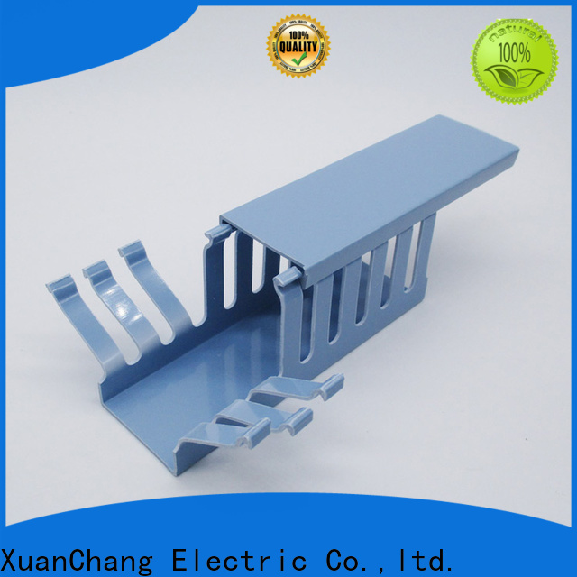 XCCH pvc slotted cable duct for business in power transmission