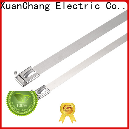 XCCH latest stainless steel roller ball cable ties company for mining