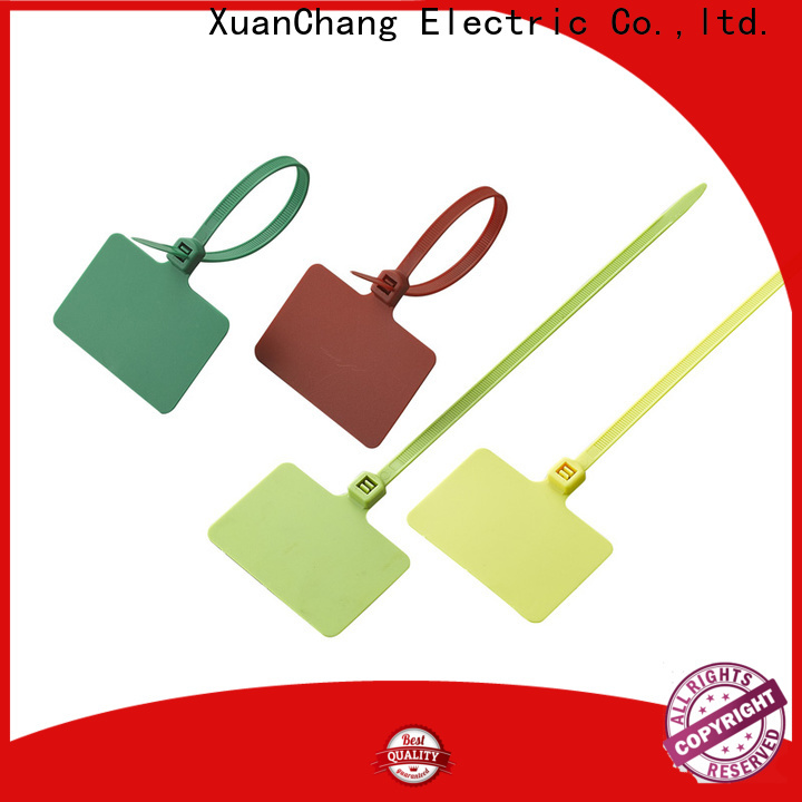 XCCH top cable tags plastic supply in food processing