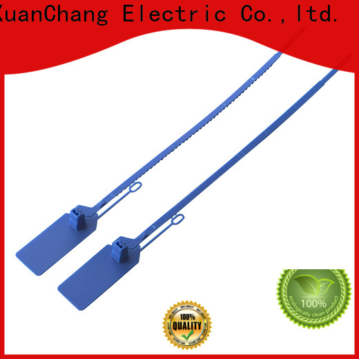 XCCH plastic security seals company for industrial