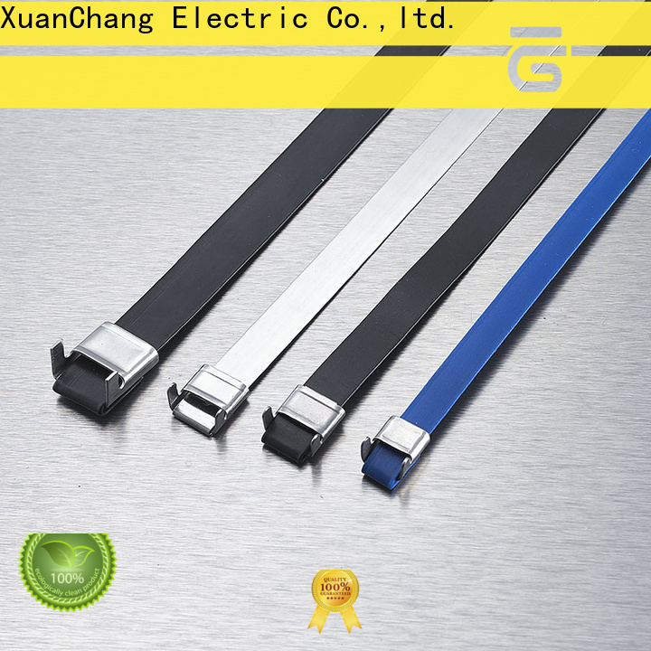 high-quality heavy duty stainless steel cable ties supply in chemical plants