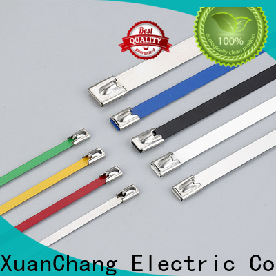 XCCH top pvc coated cable ties company for pulping