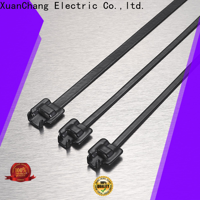 XCCH cable tie steel factory in chemical plants