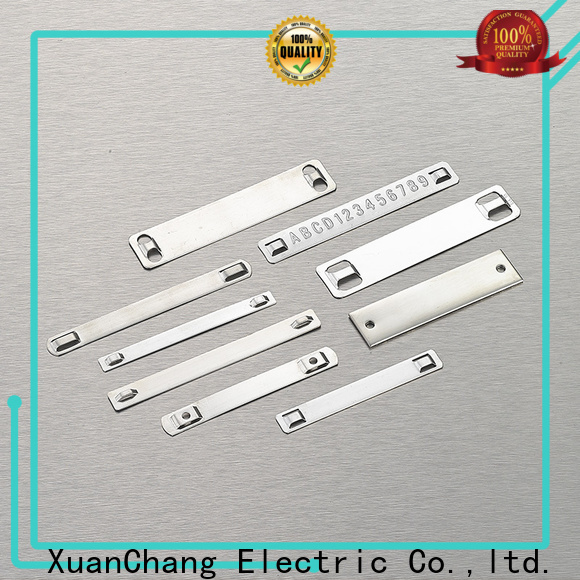 XCCH custom engraved stainless steel tags supply for industrial