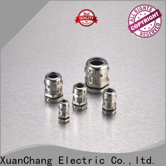 XCCH nickel plated brass cable gland factory for mining