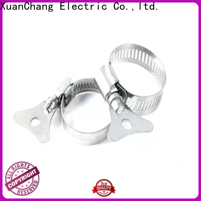 XCCH miniature hose clamps manufacturers in food processing