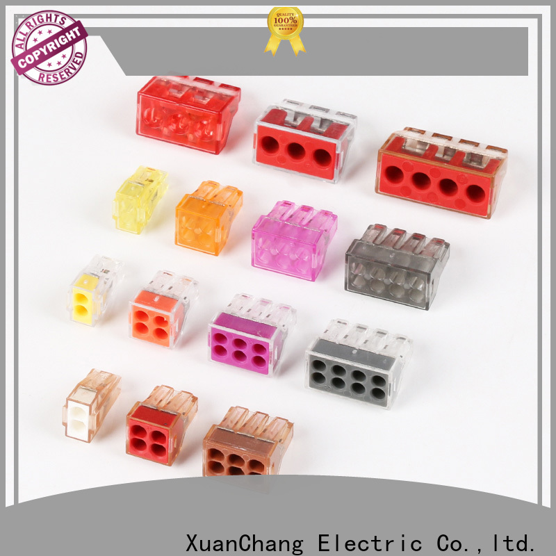 XCCH automotive wire connectors factory for pulping