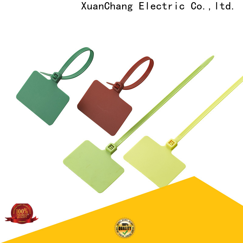 XCCH cable tag tie company for pulping