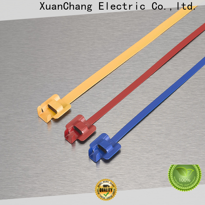 XCCH pvc coated cable ties supply in chemical plants