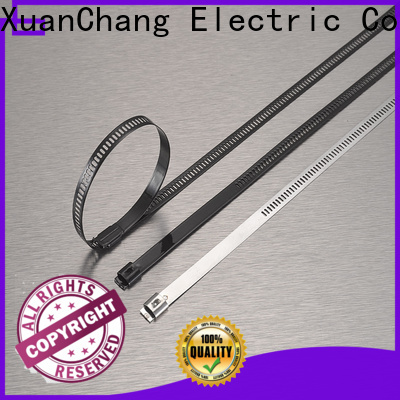 XCCH pvc coated ss cable ties suppliers in food processing