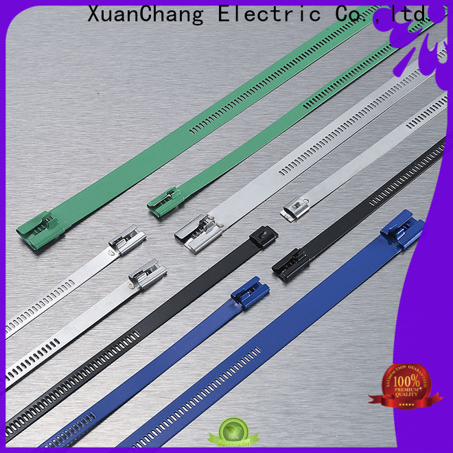 XCCH stainless steel ladder cable ties company in power transmission