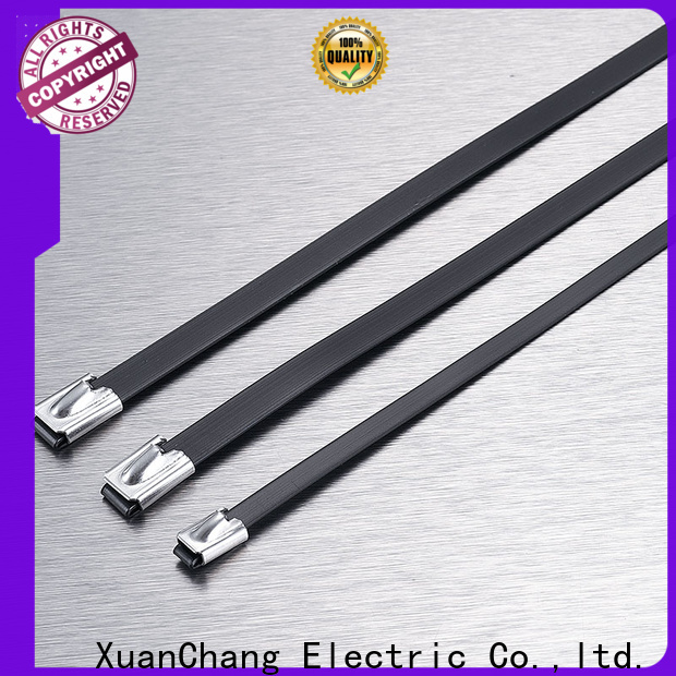XCCH pvc coated cable ties company in food processing