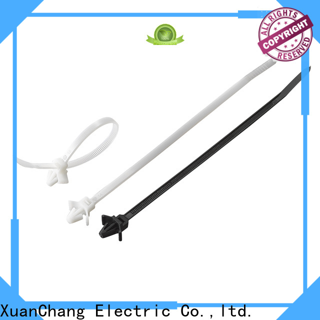 XCCH automotive push mount cable ties manufacturers for pulping
