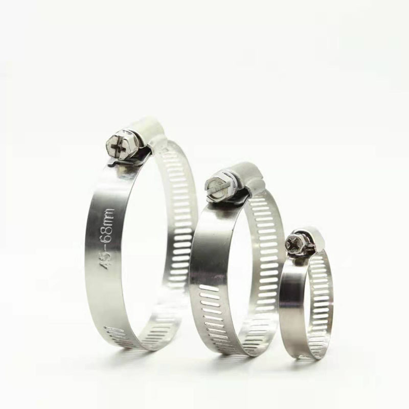 Stainless Steel  Miniature Worm Gear Hose Clamp