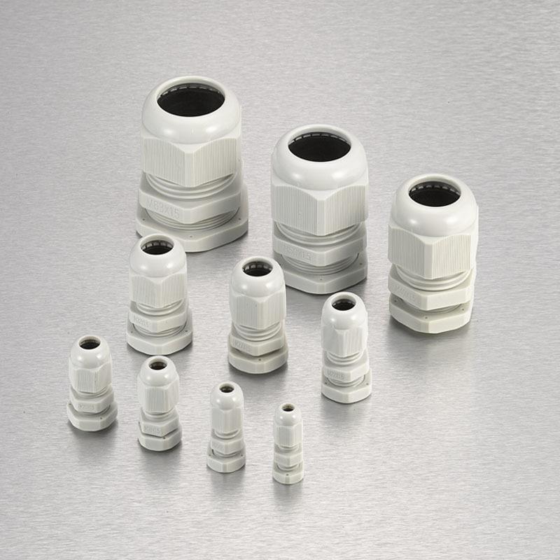 Nylon Waterproof Cable Gland Long Thread METRIC Type